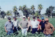 Brian Adams along with Cuban growers and Buyers